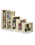 Snap Together Steel Bookcases