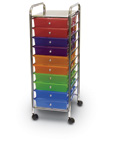 Colorful Mobile Teacher Organizer