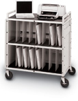 Locking Mobile Laptop Storage Cart